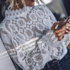 Stunning Lace Blouse